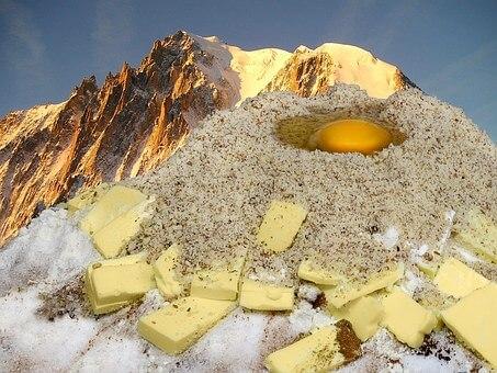 仏国の聖なる味のバター