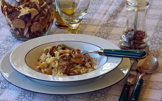 フランスのお米は、意外と美味しい。