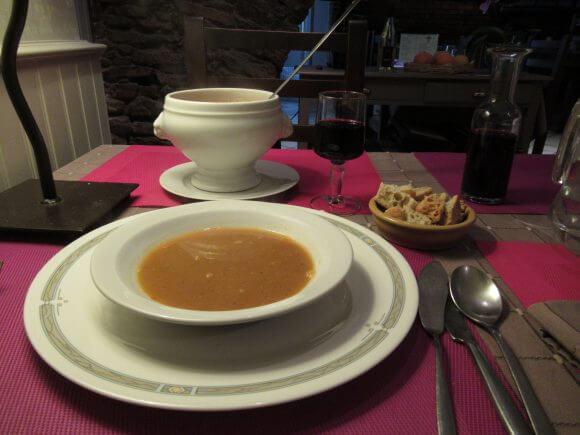 スープ・ド・ポアソン|お魚のスープ