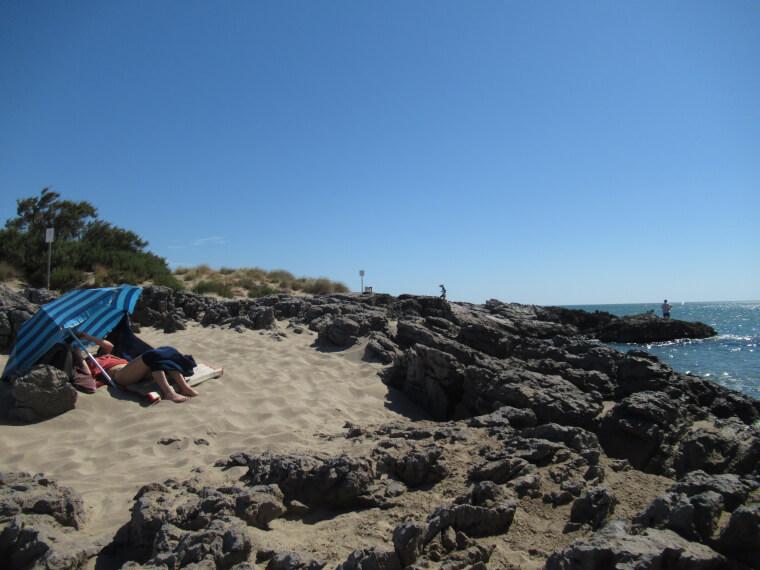 南フランスの穴場ビーチで、お気楽バカンス