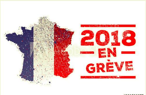 フランス ストライキ 2018·最新情報日程と対策 11月17日