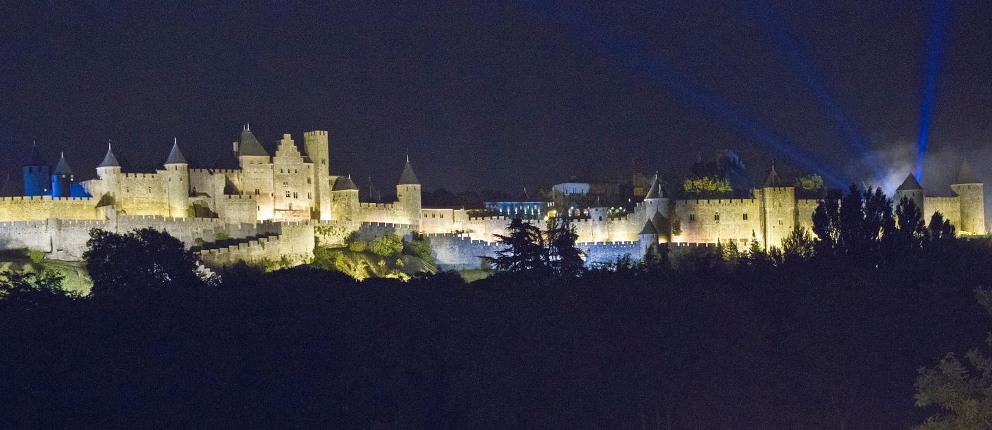 カルカソンヌのホテル【夜景·城の眺めが楽しめる4件を徹底比較】